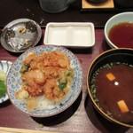 天ぷら ひさご - ラストの食事