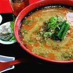 楓林 - 担々麺セット(税込930円)