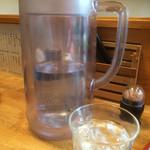 牛骨屋 バカボーン - 美味しい水