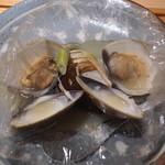 寿しの吉乃 - ノドグロと松茸と蛤の酒蒸し