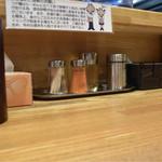 上海麺館 - 店内