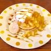 T's cafe-note - 料理写真:パインとレモンのパンケーキ! 甘さと酸味、ほろ苦さがベストマッチ