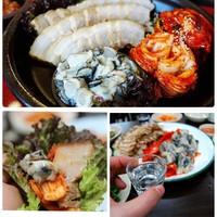 今冬サムギョプ新作!牡蠣とポッサムキムチのサムギョプサル