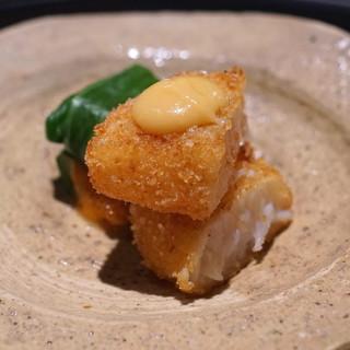 佐藤 - 料理写真:有明海のタイラギのフライ