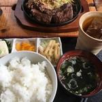もみじ亭 - 料理写真:鉄板焼定食