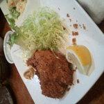 5965724 - 牡蠣フライ(食べかけ)
