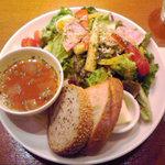 5965858 - 10種野菜のサラダ