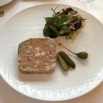 59656024 - ブルギニオンの肉のテリーヌ サラダ添え