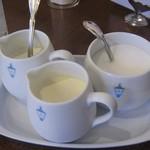 馬車道十番館 - ミルク ホイップクリーム 砂糖