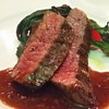 レゾネイトクラブくじゅう - 料理写真:メインディッシュ :豊後牛モモ肉のロティスリー 元気野菜を添えて