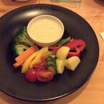 TANTO - 彩り野菜のバーニャカウダ