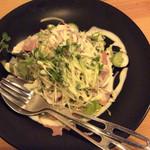 TANTO - 生ハムと温玉のサラダ