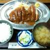 大富士 - 料理写真:とんかつ(A)定食 1,600円(税込)