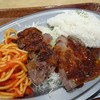 黒煉瓦 - 料理写真:牛ステーキプレート(990円・別)