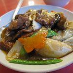 中華料理 龍鳳酒家 - 牛肉と豆腐のピリ辛煮_2016/11