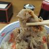 丼太郎 - 料理写真:牛丼(2016年11月)