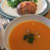 ケイズガーデンカフェ - 料理写真:スコーンとサラダ、スープのセット(850円)(2016.12/初訪)