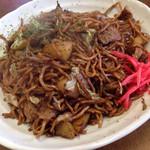 きくち - 料理写真:肉ポテト入り焼きそば (大盛り) ¥500