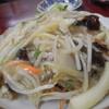 萬来軒 - 料理写真:野菜たっぷりのかた焼きそば