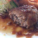 レストラン湖西路 - ハンバーグ アップ