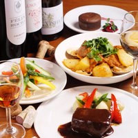 ワインと相性の良いアラカルト料理