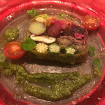 炭火焼とワインの酒場 VOLTA - 10種野菜のテリーヌ