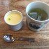 すし花 - 料理写真:茶碗蒸し、緑茶