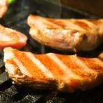 焼肉くろちゃん - 厚切塩タン