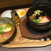 シジャン - 料理写真:石焼きビビンバと冷麺