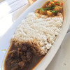CAFE DE MOMO - 料理写真:コンビカレーM (ビーフと野菜)