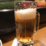 む鉄砲 - ビール
