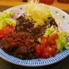 ターバン - 料理写真:タコライスターバンカレー(800円)