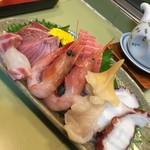 魚又寿司 - 料理写真:2016.12 お刺身盛り