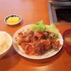 蒜山食堂 - 料理写真:2016年12月 ホルモン定食(900円)
