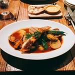 59731340 - 真鯛と旬の野菜のブイヤベース仕立て ルイユ添え