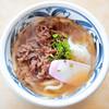 桃太郎館 - 料理写真:肉うどん