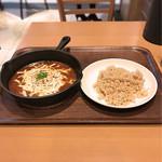 カレー食堂 心 - 2016 12 3種チーズ焼きカレー の玄米