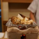 Momen - 料理写真:焼き松茸