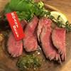 ミートバル - 料理写真:十勝しほろ牛のローストビープ1026円