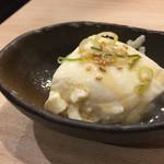 炉暖 - 付き出しのお豆腐