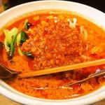 麺や 蓮と凜 - 赤の激辛担々麺