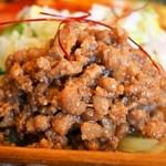 麺や 蓮と凜 - 白胡麻担々麺(豚バラ ミンチ)