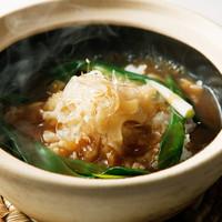 フカヒレ土鍋ご飯 ~砂鍋魚翅飯~