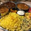 ゼロワンカレー - 料理写真:201612再訪  南インド定食あいがけ レモンライス