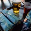 ノーチラスギャレー - ドリンク写真:ギョウザドック&生ビール&ホットワイン