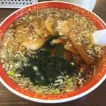 ラーメン専科 麺々 - 料理写真:チャーシューメン(大盛)