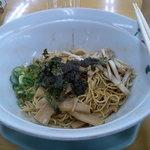 博多金龍 - 金龍そば 細麺 並盛