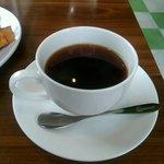 かふぇコロン - モーニングのホットコーヒー