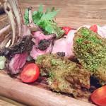 肉バル×クラフトビール Tree House Diner - 2016.12 肉コンボ