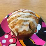 らんらん - 料理写真:2016.11. お芋のカップケーキ(¥350) ナッツ・クルミ・レーズン・芋煮入り